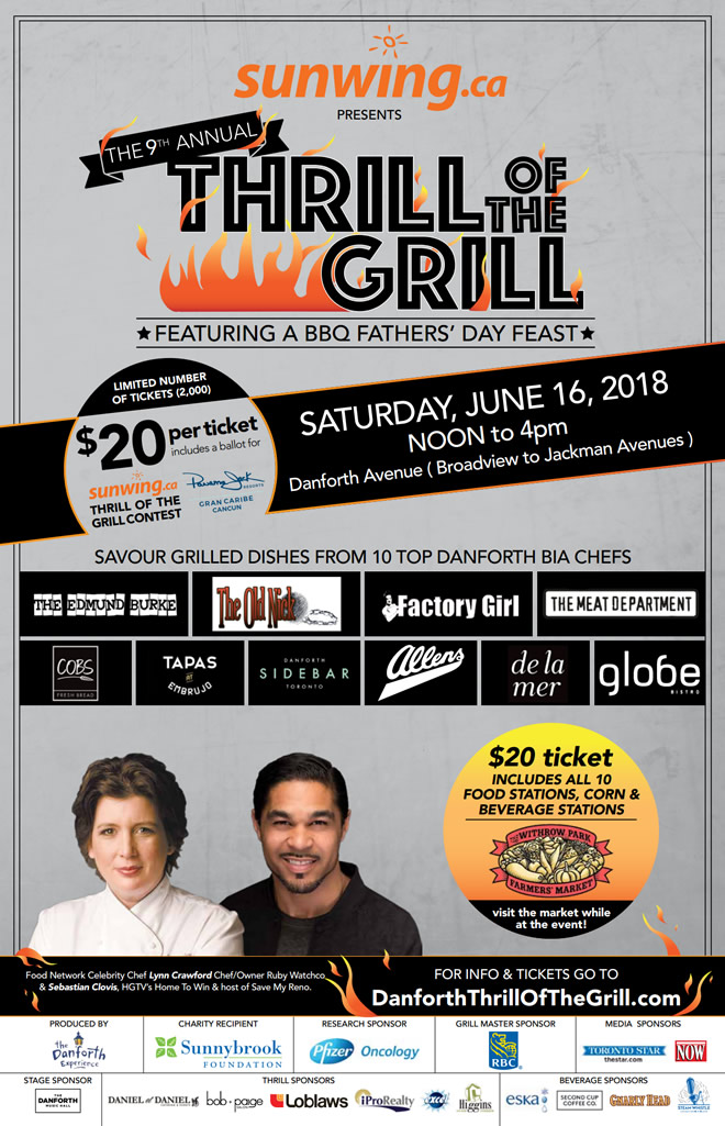 Thrill of the Grill 2018