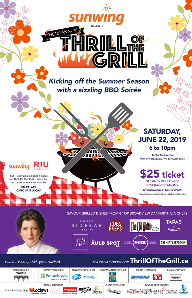 Thrill of the Grill 2019