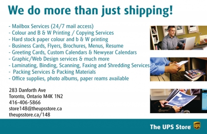UPS Does More!
